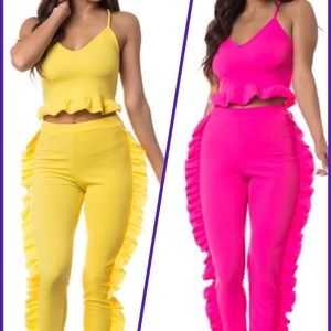 2 piece top and bottom sets
